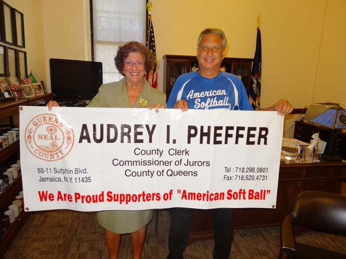 Commissioner of Jurors Audrey I. Pheffer.